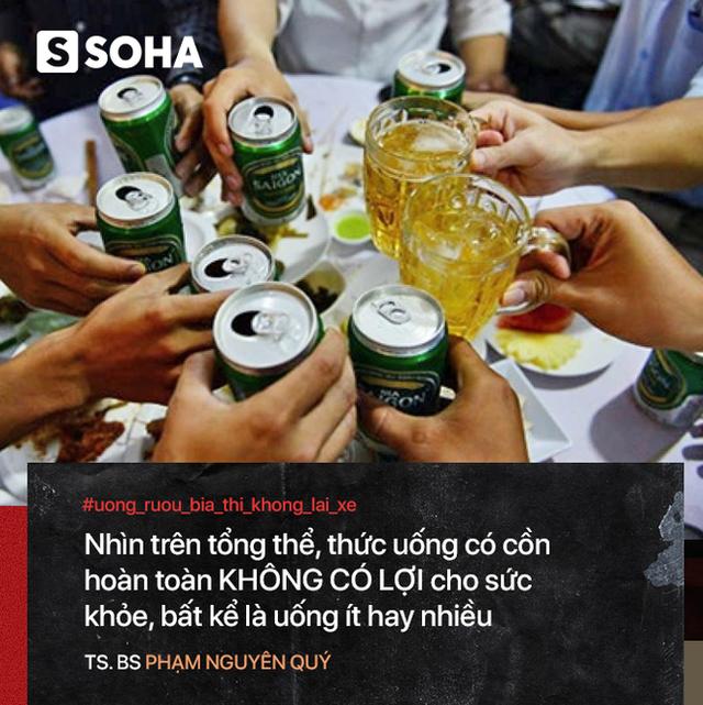 Bác sĩ Việt tại Nhật: Uống rượu đỏ mặt - nguy cơ ung thư cao nhưng ít ai biết để bỏ nhậu - Ảnh 3.