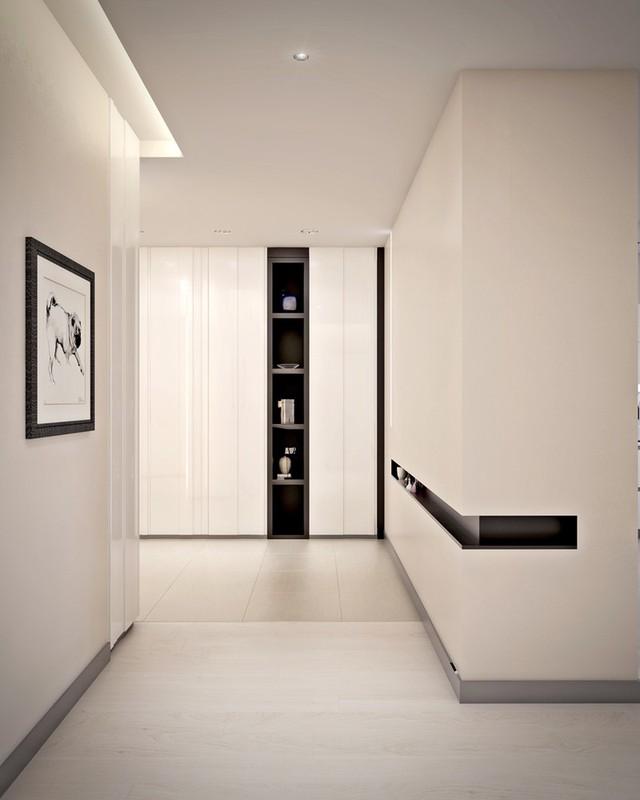 Mẫu căn hộ đẹp có phòng khách liền kề nhà bếp - Ảnh 9.