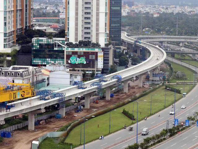 Sau khi tạm ứng vốn, dự án metro số 1 đạt hơn 70% tổng khối lượng thi công - Ảnh 1.