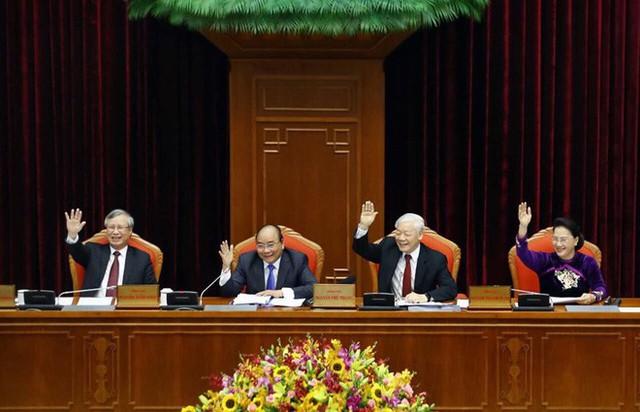 Tổng Bí thư, Chủ tịch nước Nguyễn Phú Trọng phát biểu khai mạc Hội nghị Trung ương - Ảnh 1.