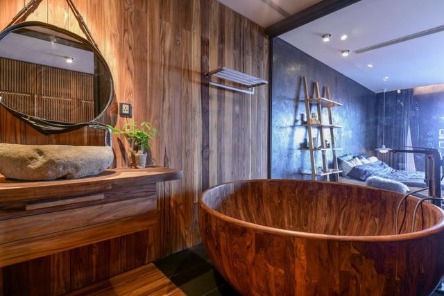 Căn nhà gỗ giữa rừng Bắc Âu ở Hà Nội đốn tim khách khó tính - Ảnh 11.