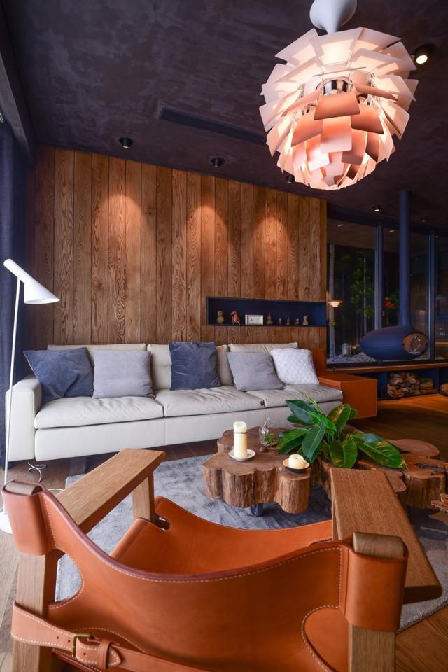 Căn nhà gỗ giữa rừng Bắc Âu ở Hà Nội đốn tim khách khó tính - Ảnh 6.