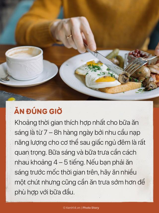 Để có 1 bữa sáng hoàn hảo và giúp cơ thể khoẻ đẹp hãy chú ý những điều này - Ảnh 1.