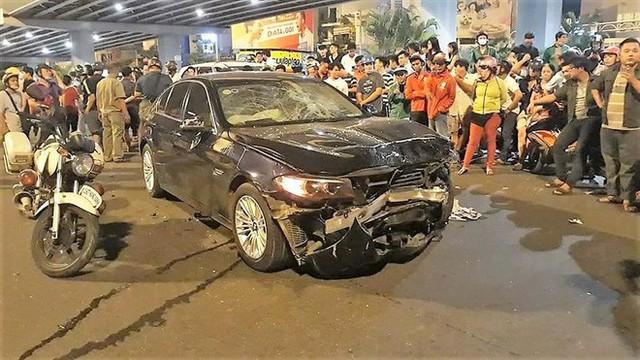 Nữ đại gia say xỉn lái xe BMW gây tai nạn ở Hàng Xanh có thể đối diện đến 10 năm tù - Ảnh 1.