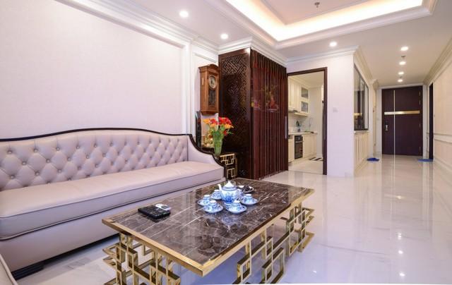 Ngắm căn hộ tân cổ điển vạn người mê ở Hà Nội - Ảnh 1.