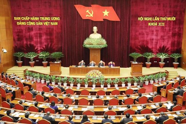 Tổng Bí thư, Chủ tịch nước Nguyễn Phú Trọng phát biểu bế mạc Hội nghị Trung ương - Ảnh 1.
