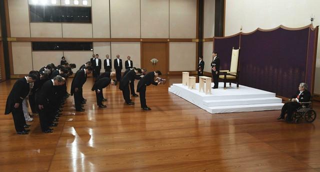 Ảnh: Thủ đô Tokyo trang nghiêm, náo nhiệt và đẹp như tranh vẽ trong ngày đầu tiên dưới thời Lệnh Hòa - Ảnh 2.