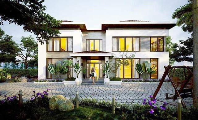Nhà 1,5 tỷ đồng thiết kế đẹp như biệt thự hạng sang - Ảnh 1.