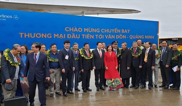 Sân bay Vân Đồn sẽ đón chuyến bay quốc tế đầu tiên vào đêm 27.5 - Ảnh 1.