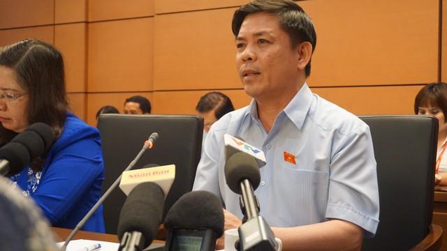 Lý giải việc chậm triển khai 2 siêu dự án, Bộ trưởng Giao thông Nguyễn Văn Thể cho biết: Do Luật Đầu tư công - Ảnh 2.