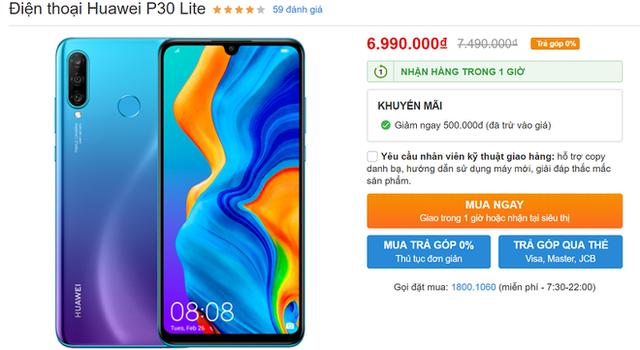 Cơn bão giảm giá quét qua, điện thoại Huawei tiếp tục lao dốc không phanh - Ảnh 3.