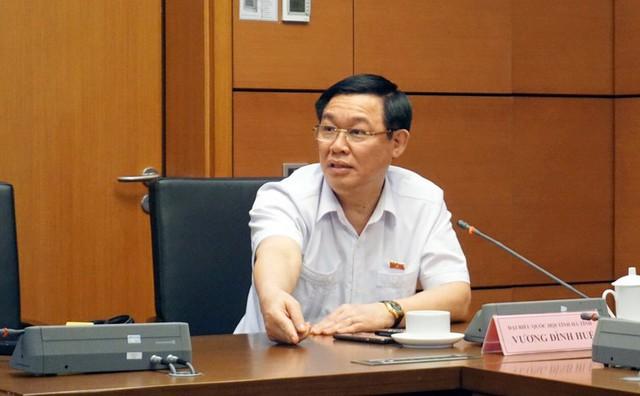 Phó Thủ tướng Vương Đình Huệ: Tôi mong muốn nâng cao năng lực kiểm toán không phải vì từng 10 năm làm ở đây! - Ảnh 1.