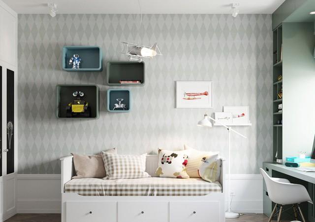 Căn hộ có 3 phòng ngủ rộng rãi nhờ cách sắp xếp nội thất - Ảnh 11.
