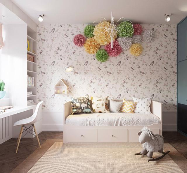 Căn hộ có 3 phòng ngủ rộng rãi nhờ cách sắp xếp nội thất - Ảnh 12.