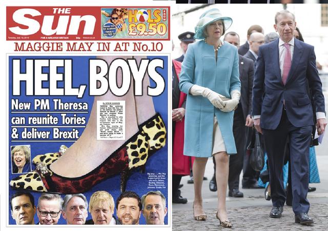 Theresa May: Người phụ nữ thời thượng với niềm đam mê giày gót mèo và hoa văn da báo - Ảnh 4.