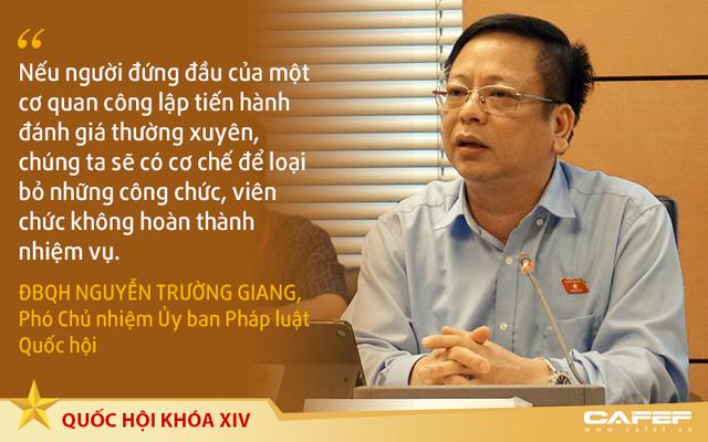 Phó chủ nhiệm Ủy ban Pháp luật Quốc hội: Công chức yếu kém sẽ không còn đường ở lại - Ảnh 1.