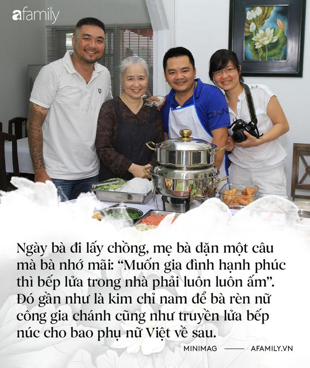 Nguyễn Dzoãn Cẩm Vân - Qua bao truân chuyên để thành Huyền thoại của gian bếp Việt, cuối cùng vì chữ An mà buông bỏ tất cả - Ảnh 2.