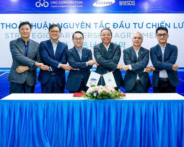 Tập đoàn CMC sắp nhận đầu tư từ Samsung SDS, nhắm đến mục tiêu doanh thu 1 tỷ USD - Ảnh 1.