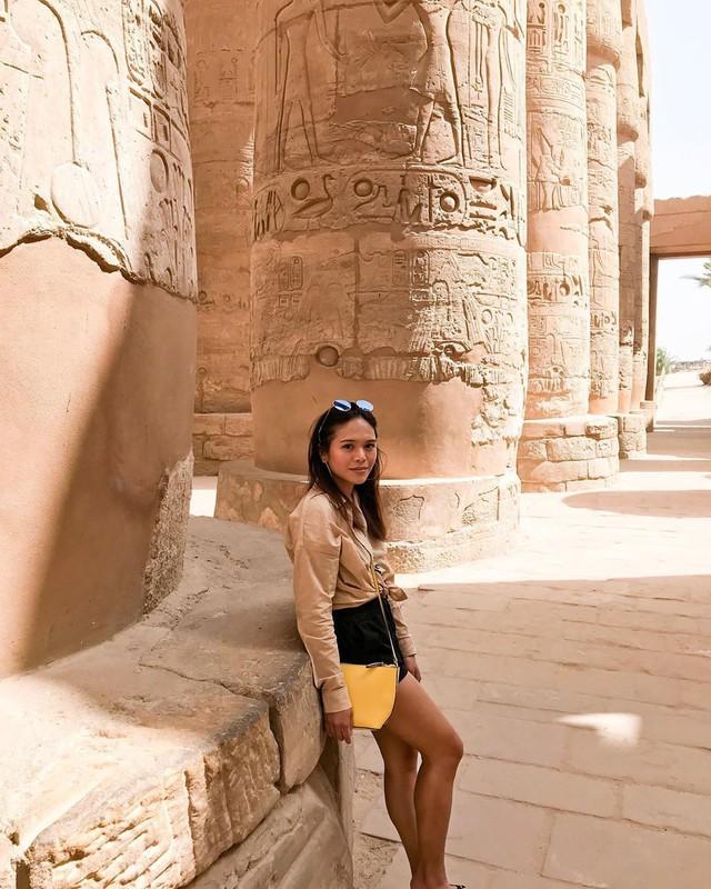Đền Karnak: Bảo tàng ngoài trời lớn nhất thế giới, khiến giới blogger du lịch mê mẩn khi đặt chân đến Ai Cập - Ảnh 12.