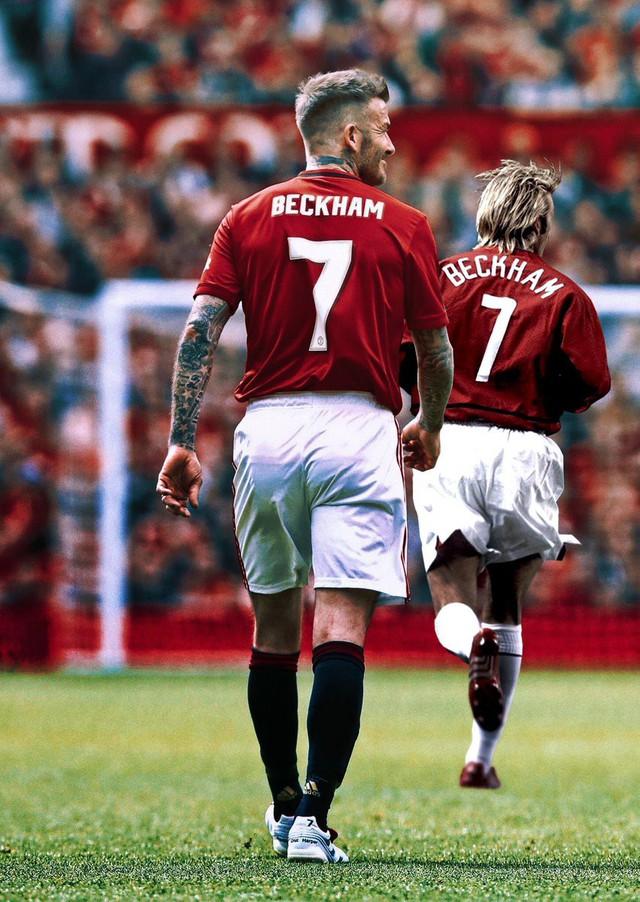 Ngất ngây trước những hình ảnh đẹp long lanh của Beckham trong ngày mặc lại bộ áo đấu MU, tái hiện ký ức thanh xuân tươi đẹp của hàng chục triệu người hâm mộ - Ảnh 14.