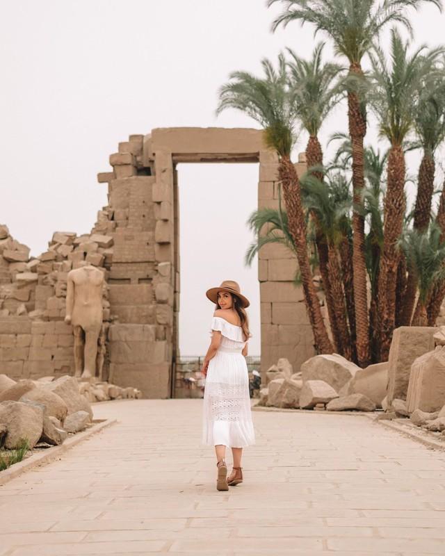 Đền Karnak: Bảo tàng ngoài trời lớn nhất thế giới, khiến giới blogger du lịch mê mẩn khi đặt chân đến Ai Cập - Ảnh 14.