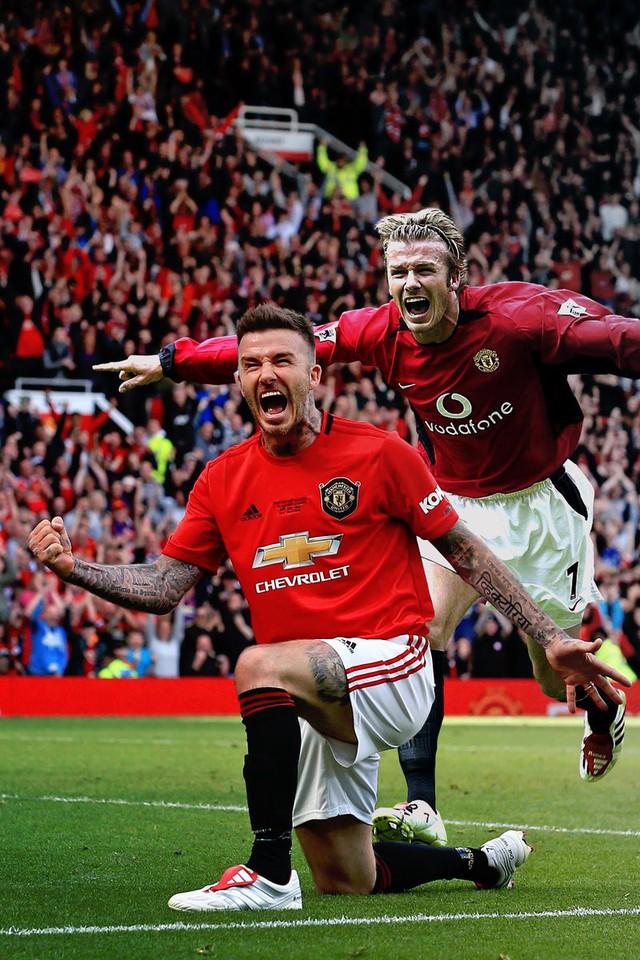Ngất ngây trước những hình ảnh đẹp long lanh của Beckham trong ngày mặc lại bộ áo đấu MU, tái hiện ký ức thanh xuân tươi đẹp của hàng chục triệu người hâm mộ - Ảnh 15.