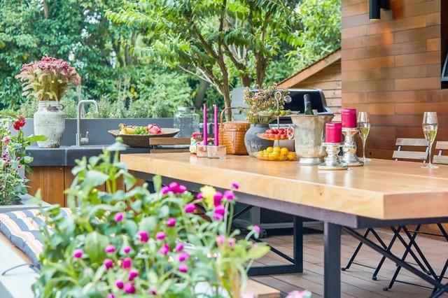 Mong muốn con sống một đời bình an, người mẹ trẻ rời thành phố về ngoại ô xây nhà vườn rộng 1000m² với bể bơi và cây xanh đẹp như mơ  - Ảnh 25.