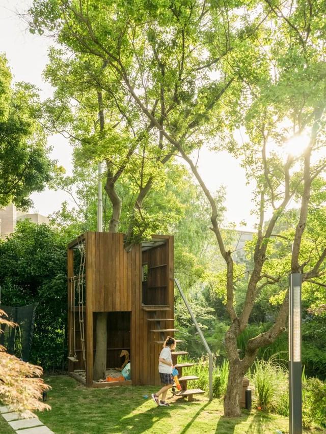 Mong muốn con sống một đời bình an, người mẹ trẻ rời thành phố về ngoại ô xây nhà vườn rộng 1000m² với bể bơi và cây xanh đẹp như mơ  - Ảnh 8.