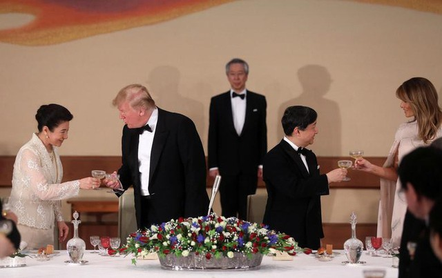 Nhật hoàng mở quốc yến chiêu đãi Tổng thống Trump - Ảnh 1.