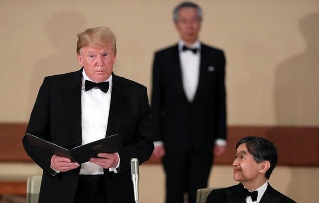 Nhật hoàng mở quốc yến chiêu đãi Tổng thống Trump - Ảnh 4.