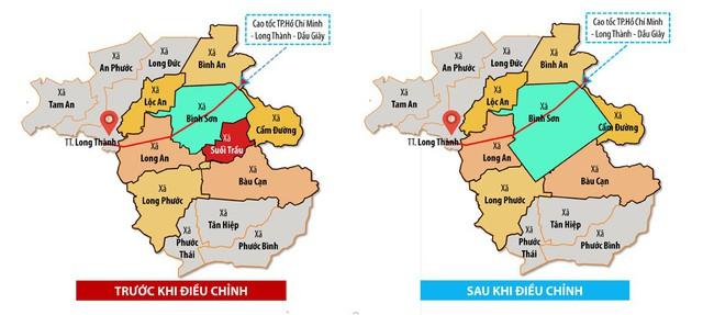 Xác lập địa giới hành chính mới cho huyện Long Thành (Đồng Nai) - Ảnh 1.