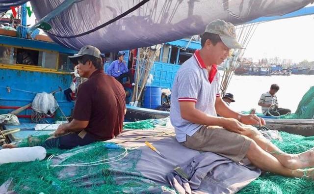 Giá xăng dầu liên tục tăng, nhiều tàu cá nằm bờ - Ảnh 3.