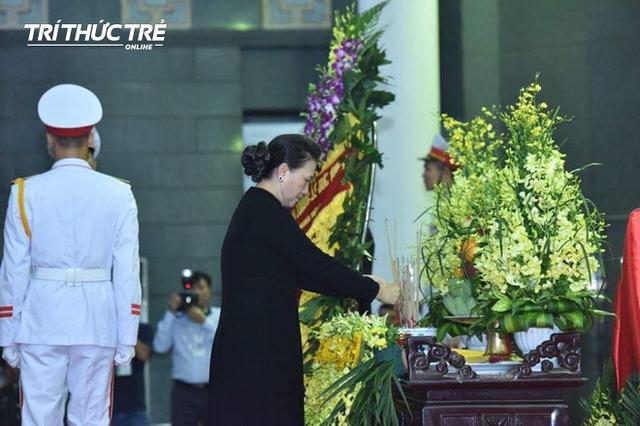 Lễ viếng cố Chủ tịch nước Lê Đức Anh - Ảnh 9.