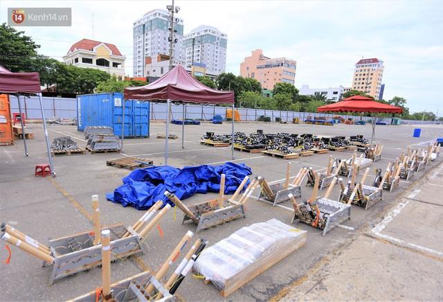 Ảnh: Xâm nhập trận địa pháo hoa khủng trước giờ khai hỏa DIFF 2019 ở Đà Nẵng - Ảnh 3.