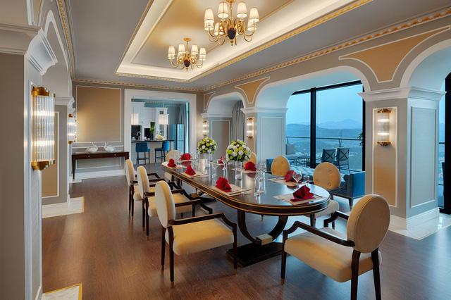 Cận cảnh phòng Tổng thống rộng 1.000 m2 tại khu quần thể có tầm nhìn đẹp nhất Hạ Long - Ảnh 7.