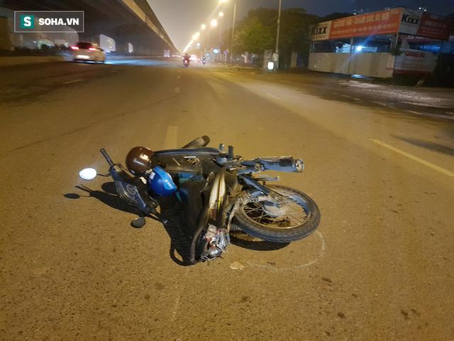 Tài xế lái xe biển xanh tông người rồi bỏ chạy ở Hà Nội đã ra công an trình diện - Ảnh 1.