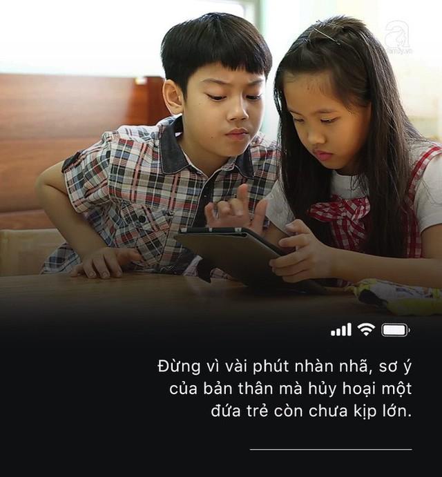 Con quấy khóc, bố mẹ cho chơi ngay smartphone: Đừng vì vài phút nhàn rỗi mà hủy hoại một đứa trẻ còn chưa kịp lớn! - Ảnh 7.