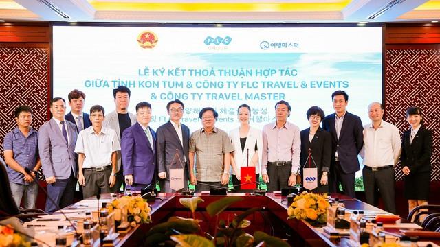 """FLC Travel & Events """"bắt tay"""" đối tác Hàn Quốc, tăng cường kết nối du lịch trong nước và quốc tế - Ảnh 1."""