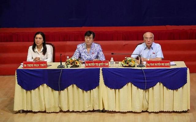 Cử tri quận 2 tiếp tục nêu ý kiến về dự án Thủ Thiêm - Ảnh 1.