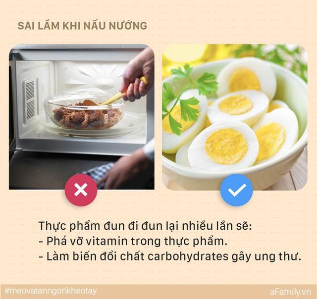 5 sai lầm mẹ dễ mắc khi nấu ăn có thể khiến cả nhà bị ung thư, đến lúc biết thì e đã muộn - Ảnh 4.