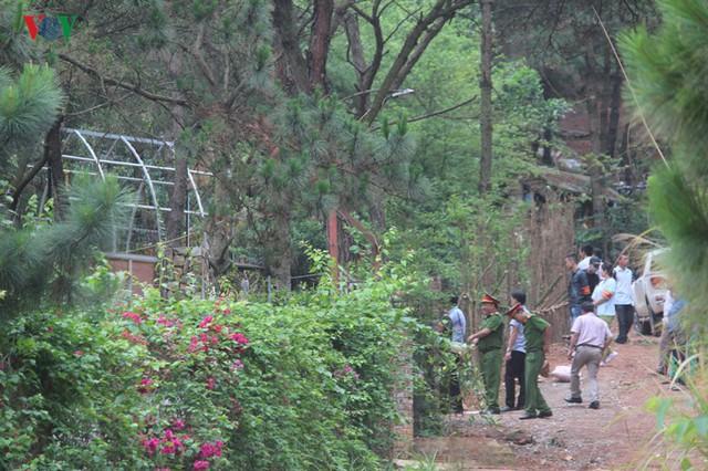 Hà Nội tiếp tục cưỡng chế công trình vi phạm trên đất rừng Sóc Sơn - Ảnh 4.