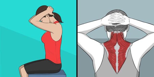 Tự chăm sóc cơ thể bằng những bài tập đơn giản sau một ngày dài làm việc, bạn sẽ chẳng cần phải đi spa hay massage tốn kém - Ảnh 2.