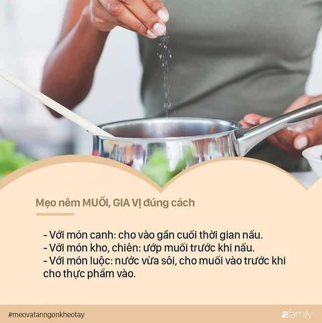 Nguyên tắc nêm nếm gia vị thường ngày để tránh biến thức ăn thành thuốc độc - Ảnh 1.