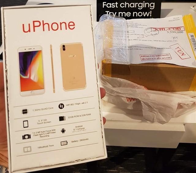 Rộ những cú điện lừa bán điện thoại dỏm giá cao - Ảnh 1.