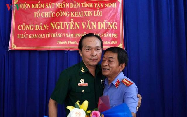 Viện KSND tỉnh Tây Ninh xin lỗi người bị bắt oan cách đây 40 năm - Ảnh 1.