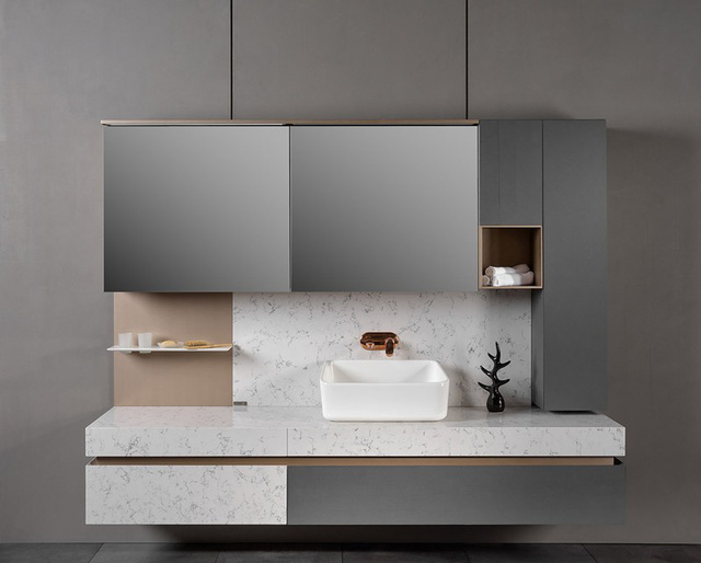 Mẫu phòng tắm đẹp hiện đại, phong cách - Ảnh 14.