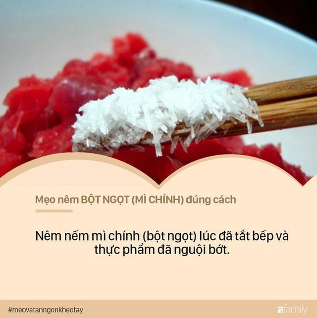 Nguyên tắc nêm nếm gia vị thường ngày để tránh biến thức ăn thành thuốc độc - Ảnh 3.
