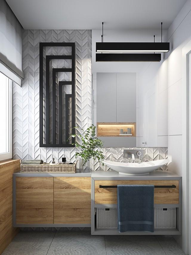 Mẫu phòng tắm đẹp hiện đại, phong cách - Ảnh 7.