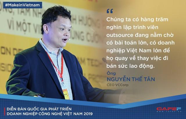 CEO VCCorp: Việt Nam có khả năng tạo ra những sản phẩm công nghệ hàng đầu không? Có khả năng, nhưng nhiều doanh nghiệp dù muốn lại không dám làm! - Ảnh 1.