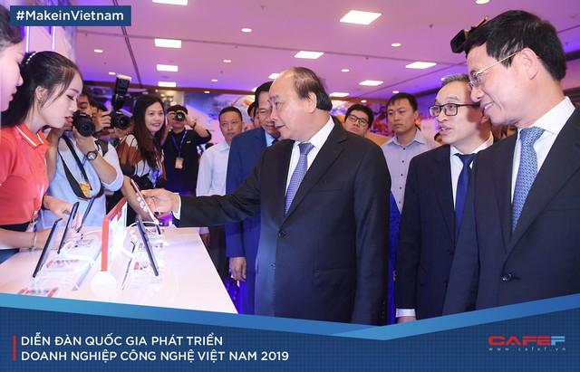 Lãnh đạo Chính phủ và nhiều doanh nghiệp lớn quy tụ tìm sáng kiến phát triển doanh nghiệp công nghệ Việt - Ảnh 16.